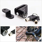 Black Metal Motorcycle ATV Brake Disc Wheel Rotor Lock Anti-Theft Device