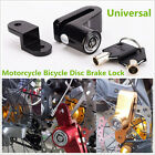 Universal Motorcycle Bicycle Black Anti-theft Wheel Disc Brake Lock With 2 Keys