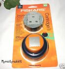 Fiskars Scalloped Square Everywhere Punch Cartridge Paper Scrapbooking NEW