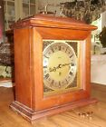 Vintage Crown Westminster Mantel Presentation Clock Jahresuhren Fabrik German