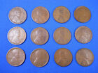 1909-1958 Lincoln Wheat Cent Penny Set Collection 104 Coins