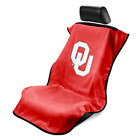Seat Armour Universal Red Seat Towel Seat Cover With NCAA Oklahoma State Logo