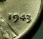 1943 P  LINCOLN WHEAT STEEL PENNY #W25887