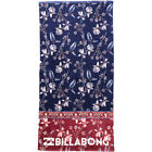 Billabong Lie Down Womens Accessory Towel - Blue Jewel One Size