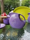 FIESTAWARE FIESTA large 67 OZ. water DISK PITCHER lilac
