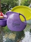 FIESTAWARE FIESTA large 67 OZ. water DISK PITCHER lilac 60th Anniversary