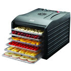 Aroma Professional 6 Tray Black Extra Large Electric Food Dehydrator