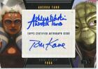 2013 Topps Star Wars Galactic Files 2 Autographs Guide 23