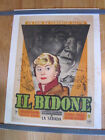 IL BIDONE Federico Fellini Broderick Crawford French 1956 poster LINEN BACKED
