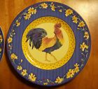 Fitz and Floyd Rooster portrait collector plate, Classic Choices Coq Du Village