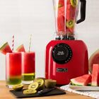 Dash Chef Series Dash Premium Digital Variable Speed Blender Red (TOJ1034)