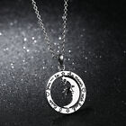 Holiday Gifts Stainless Steel Fashion Women choker Nnecklace Star Moon Pendant