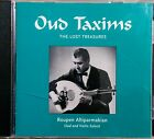 Oud Taxims The Lost Treasures - Roupe Altiparmakian Oud and Violin Soloist CD