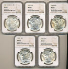 1921 1922 1923 1924 1925 NGC MS63 Morgan PEACE Silver Dollars Nice Choice BU