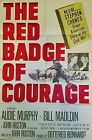 THE RED BADGE OF COURAGE 1951 AUDIE MURPHY  JOHN HUSTON CLASSIC  ORIG 1SHEET