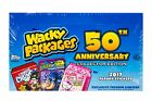 TOPPS 2017 WACKY PACKAGES 50TH ANNIVERSARY COLLECTORS EDITION HOBBY BOX NEW