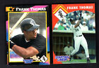 1992 and 1995 Kenner Baseball - Starting Lineup Cards - Frank Thomas - Chicago
