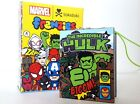 Tokidoki x Marvel Mini Comic Book Frenzies Phone Charm Hulk