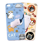 For Philips Squishy Cute Sleeping Cat Fundas 3D Silicone Cover Cases Coque