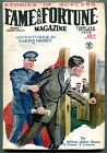 Fame and Fortune Pulp 1st January 1929 Frank Lawton VG