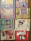 HOTP Cardmakers Instant Card Art LOT DIE CUT SHAPES QUOTES LOT