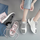 Womens Sweet Flat Round Collar Lace Up Athletic Sneakers Shoes Fashion Hot
