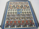 Shaquille O'Neal singed autographed Rookie 1993-94 Skybox uncut sheet RARE AUTO
