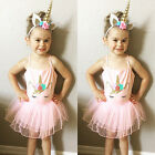 Lovely Kids Girls Toddler Baby Princess Party Pageant Wedding Tulle Tutu Dress
