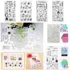 Silicone Transparent Clear Rubber Stamp For Scrapbooking Album DIY Craft Decor
