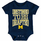 Michigan Wolverines Newborn  Infant Navy Destined Bodysuit College