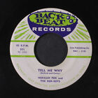 NORMAN FOX & ROB ROYS: Tell Me Why / Audry 45 Vocal Groups