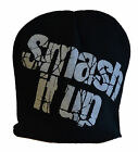 BEANIE HAT SMASH IT UP PUNK CAPTAIN SENSIBLE THE DAMNED ONE SIZE HEAD WEAR ROCK