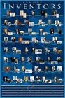 A Timeline of Famous Inventors Throughout the Ages History Poster 24x36
