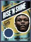 2014 15 Hoops Rise and Shine Memorabilia Basketball Card 28 Cleanthony Early