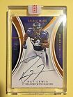 2016 Immaculate Collection Seasons #RL Ray Lewis SEALED On Card Autograph #15 17