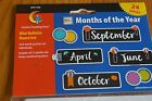 CTP 1172 Bold  Bright Months of the Year Calendar Headers Classroom Decorations