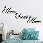 New Home Sweet Home Wall Quote Sticker Wall Decals Mural Art Lounge