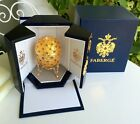 Faberge Coronation Egg with Carriage Neiman Marcus Mint In Original Box NR