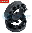 2x 15 6 Lug Black Hubcentric Wheel Spacers Adapters 6x55 for Chevy Silverado