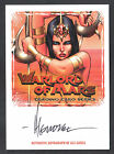 WARLORD OF MARS (Breygent 2012) AUTOGRAPH CARD #WMA-AG2 ALE GARZA SDCC EXCLUSIVE