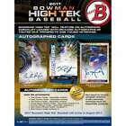 2017 Bowman High Tek Baseball Factory Sealed Hobby Box