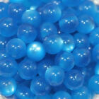 Wholesale Blue Cats Eye Jewellery Craft Beads Round Various Colours 8mm New
