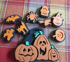 9 Assorted Halloween Chunky Stamps