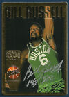 Bill Russell 1995-96 Action Packed Greats Of The Game On Card Autograph Card