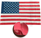 3x5 Ft American Flag USA with POLE POCKET SLEEVE Polyester b