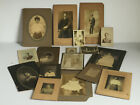 17pc Lot Antique Black Americana African American Photographs Man Woman Baby