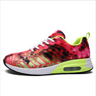 Womens Ladies Striped Lace Up Sport Running Sneakers Superstar Trainers Shoes