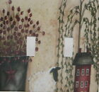 Red  Salt Box House Willow Tree Lamb Double Switch plate Light Cover