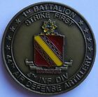 1st Battalion, 44th Air Defense Artillery, 4th Infantry Division Challenge Coin