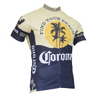 CORONA VINTAGE MENS SHORT SLEEVE CYCLING JERSEY by Retro Image Apparel